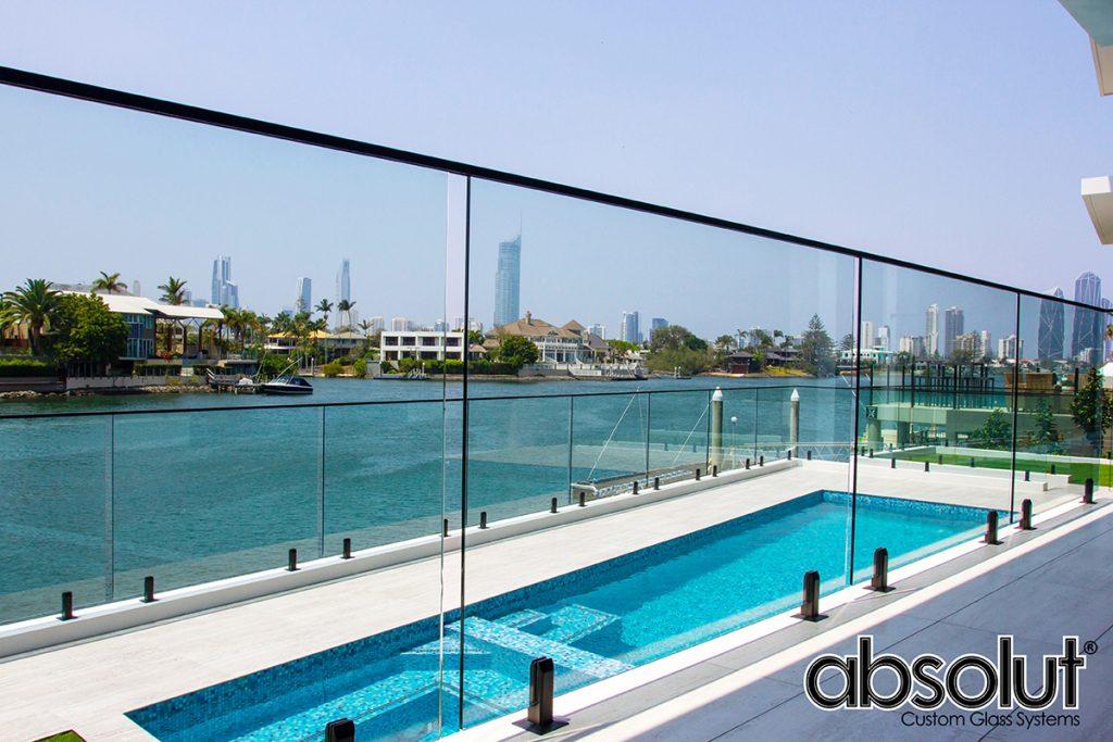 Frameless Glass Pool Fencing Broadbeach Waters