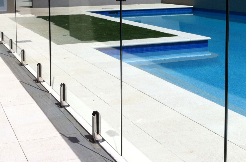 Glass Pool Fences What Are Spigots And Patches