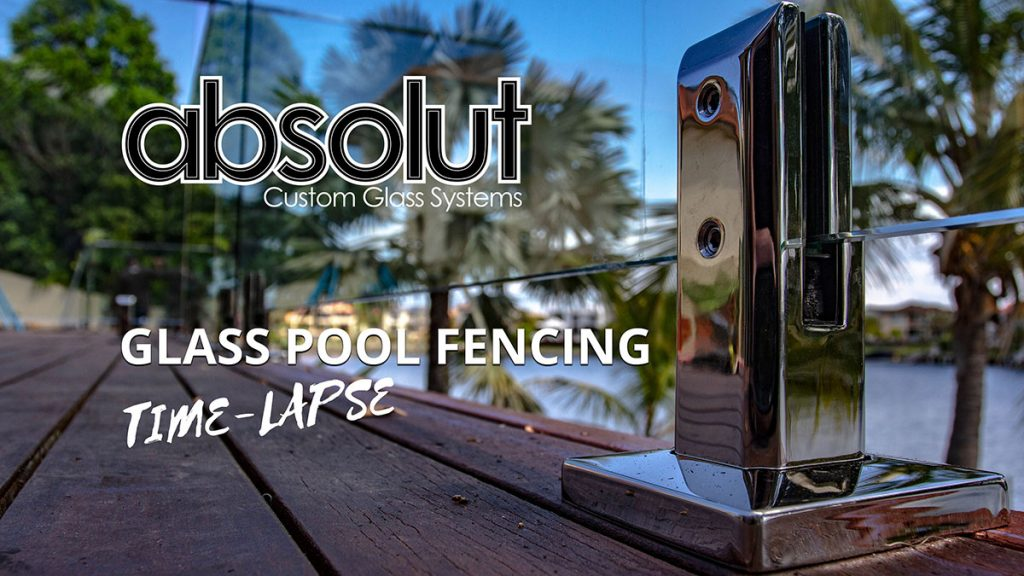 Time Lapse Frameless Glass Pool Fencing – Clear Island Waters