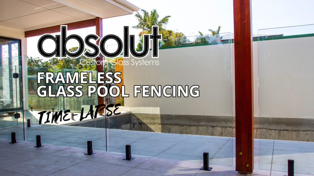 Frameless Glass Pool Fencing Mermaid Waters Time Lapse
