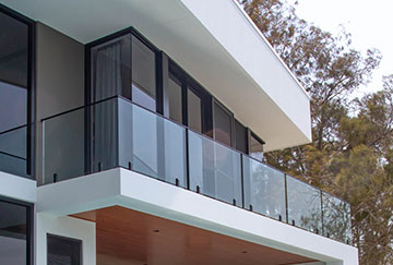 External Glass Balustrade