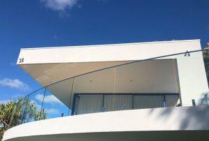 External Curved Glass Balustrade