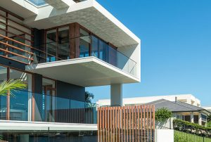 External Glass Balcony Balustrade