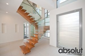 Internal Glass Balustrade Gold Coast