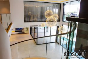 Curved Glass Balustrade Gold Coast